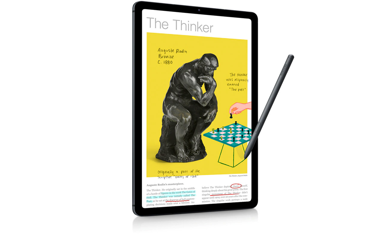 Tablet Samsung Galaxy Tab S6 Lite P615 LTE szary