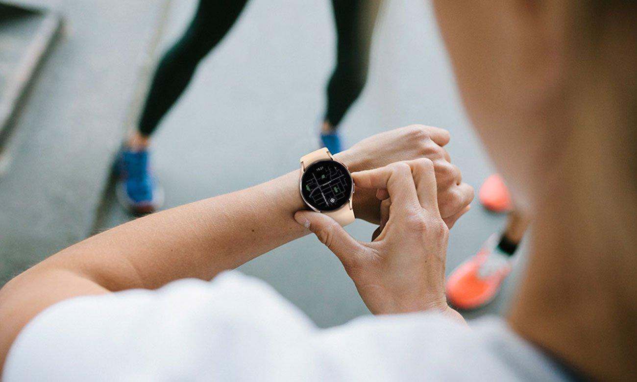 Samsung Galaxy Watch 4 Aluminium 44 mm Black LTE elegancka obudowa