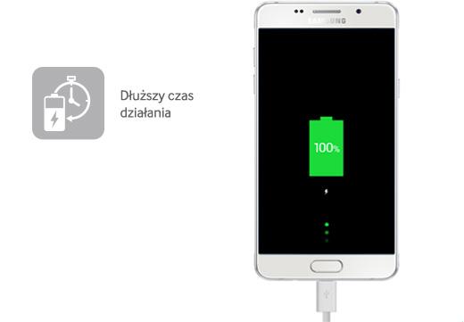 Zwiększona pojemność baterii