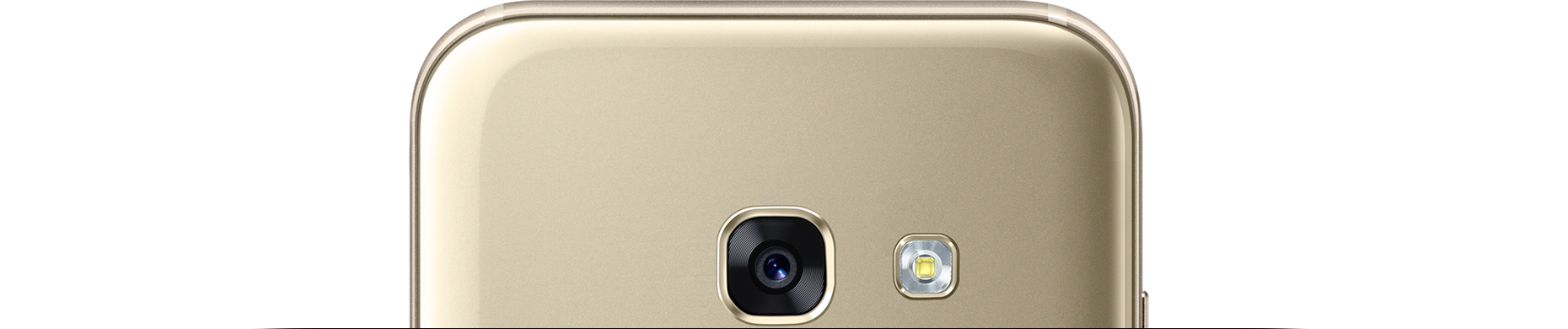 Samsung Galaxy A3 Gold Back Aparat