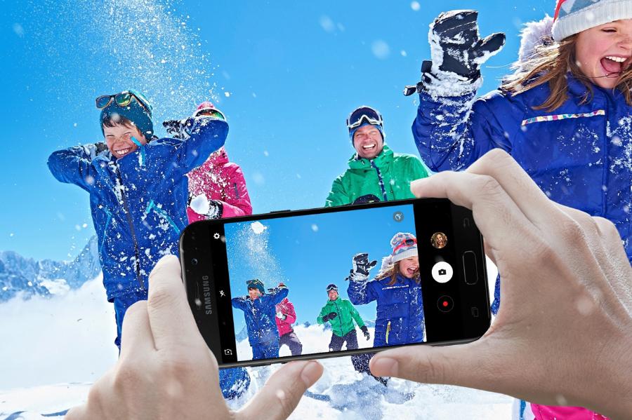 Samsung Odporność na wodę i pył. Sprawdzony w wymagających warunkach