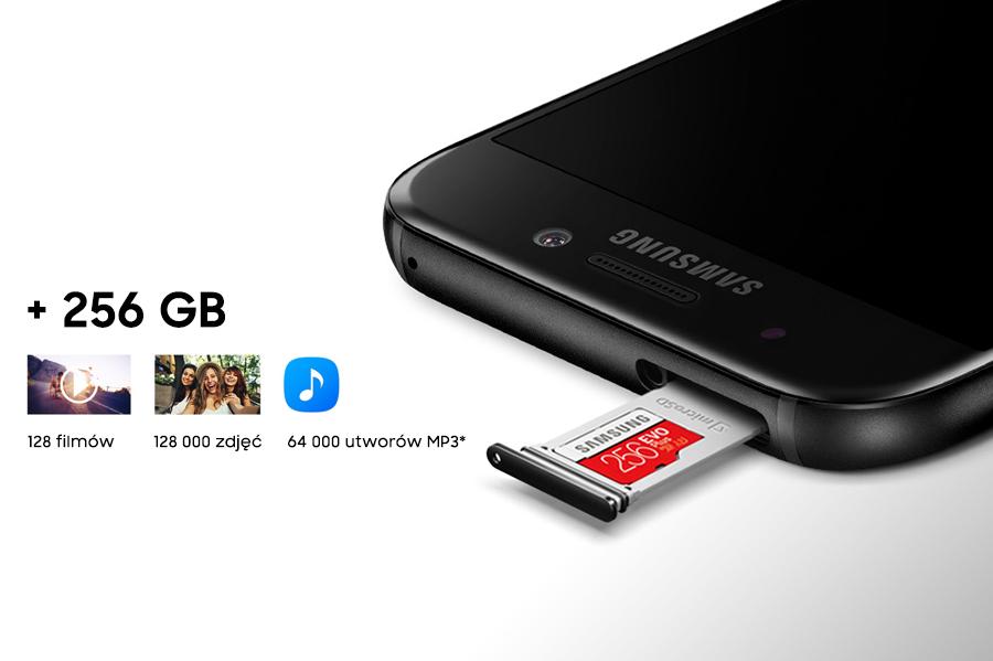 Samsung Łatwo powiększysz pamięć. Więcej miejsca na wspomnienia