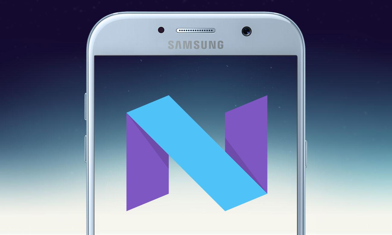 Samsung Galaxy A5 2017 aktualizacja android
