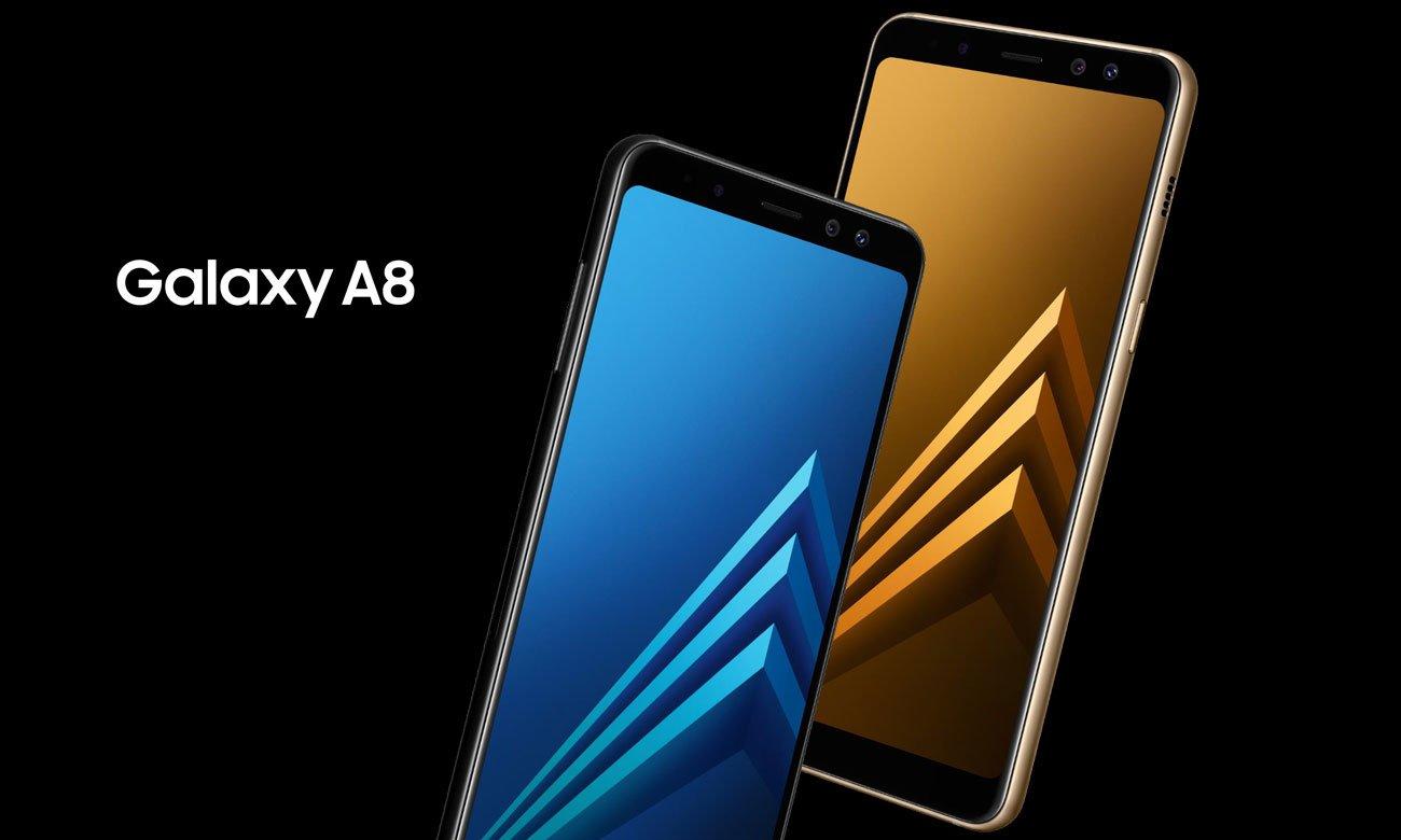Samsung Galaxy A8 A530F Black Sky obudowa ze szkła i metalu