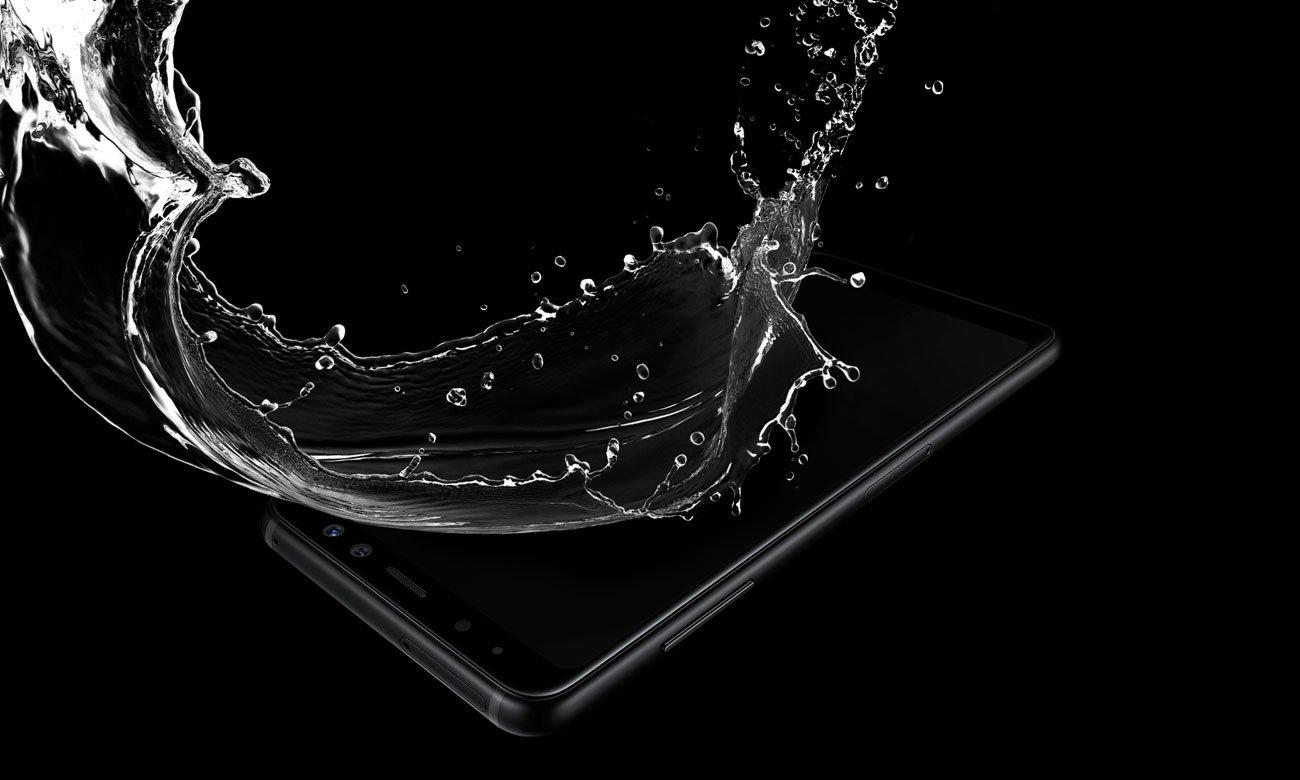 Samsung Galaxy A8 A530F Black Sky wodoodporność ip68