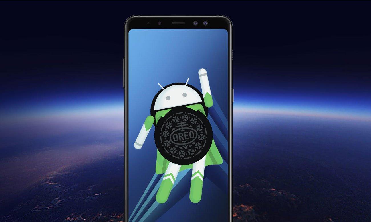 Samsung Galaxy A8 2018 oreo