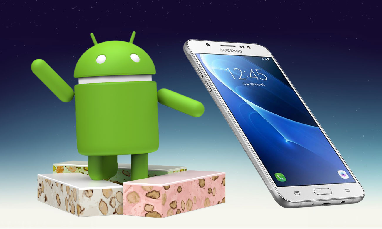 Samsung Galaxy J7 2016 aktualizacja android