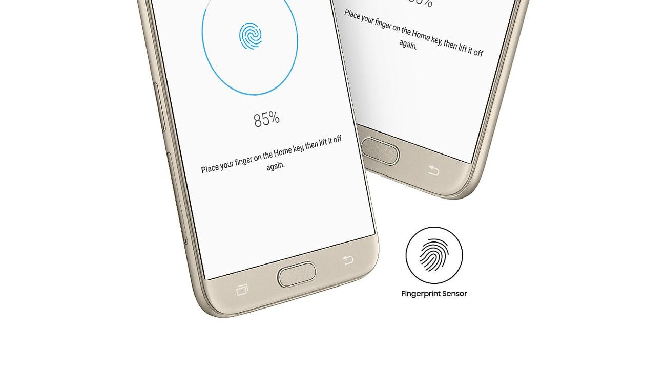 Samsung Galaxy J7 J730F 2017 czytnik linii papilarnych knox
