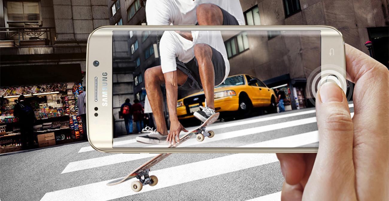 Samsung Galaxy S6 Edge G925F aparat 16 mpix f/1.9
