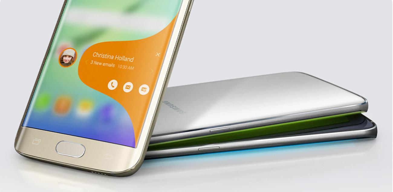 Samsung Galaxy S6 Edge G925F dwustronnie zakrzywiony ekran
