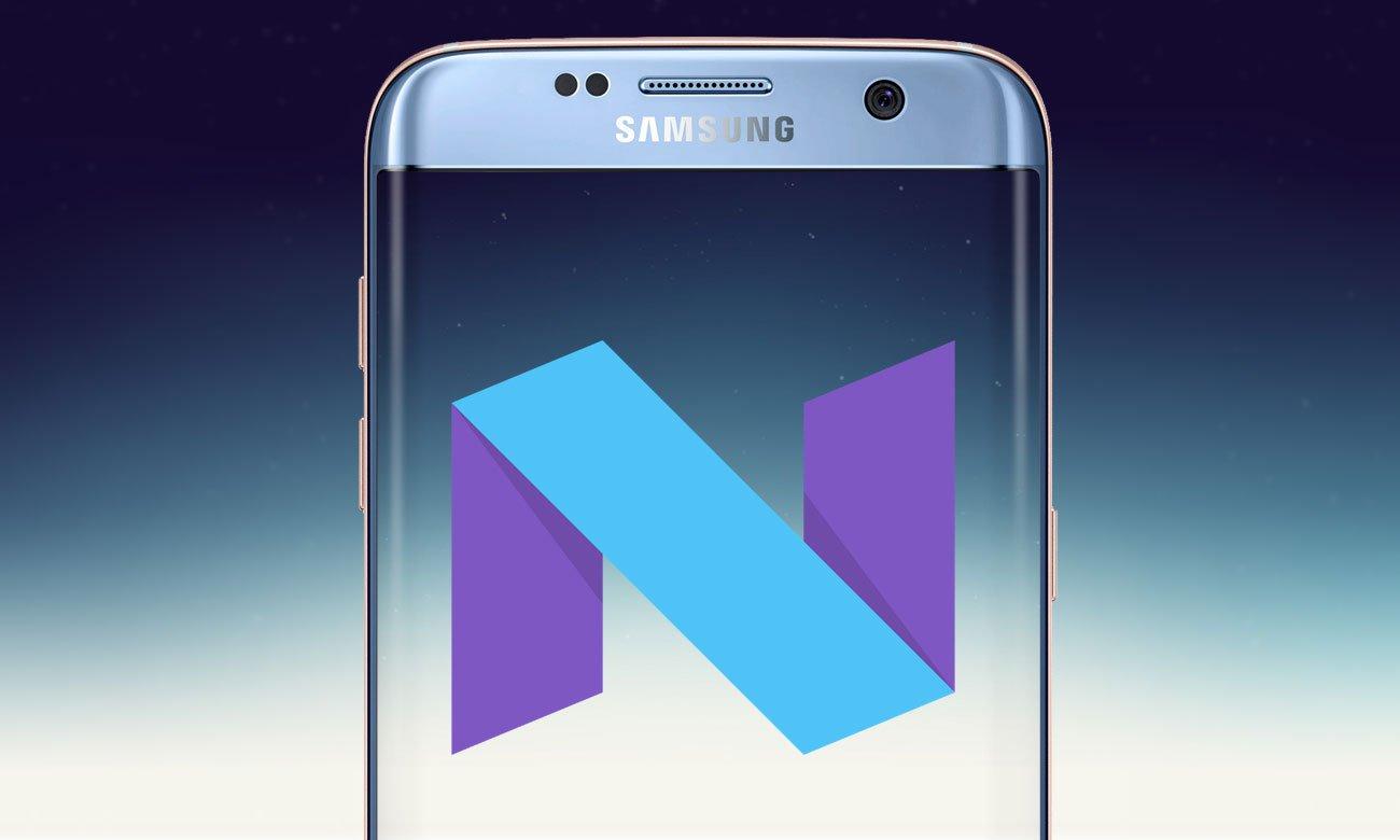 Samsung Galaxy S7 Edge G935F aktualizacja android