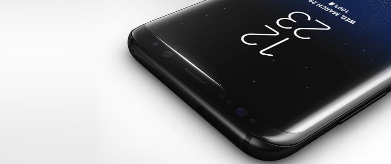 Czarny Samsung Galaxy S8 G950F zakrzywiony ekran 5.8'' edge QHD+