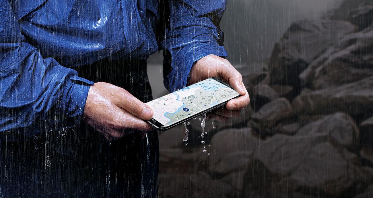 Samsung Galaxy S8 G950F odporność na pył i wodę ip68