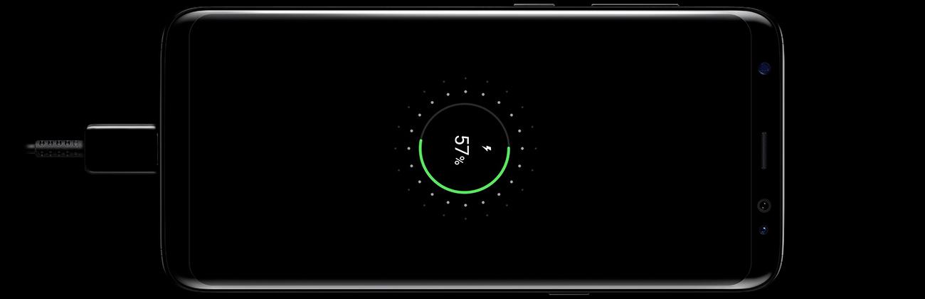 Samsung Galaxy S8 G950F bezprzewodowe ładowanie fast charge