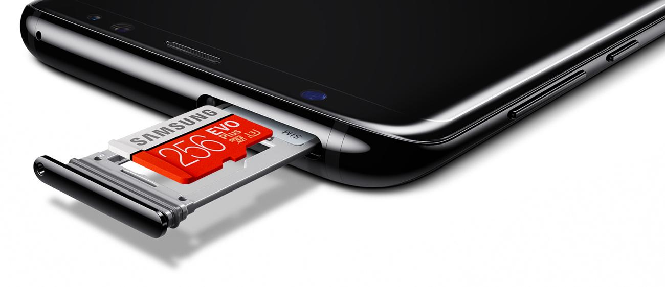 Samsung Galaxy S8 G950F pamięć flash 64GB, slot kart pamięci
