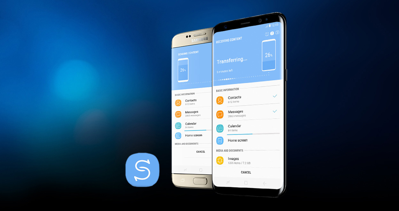 Samsung Galaxy S8 G950F smart switch