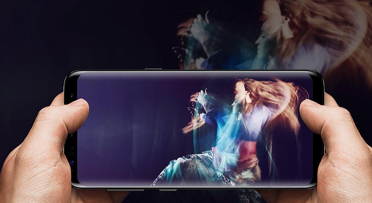 Samsung Galaxy S8 Plus G955F aparat 12 mpix f/1.7