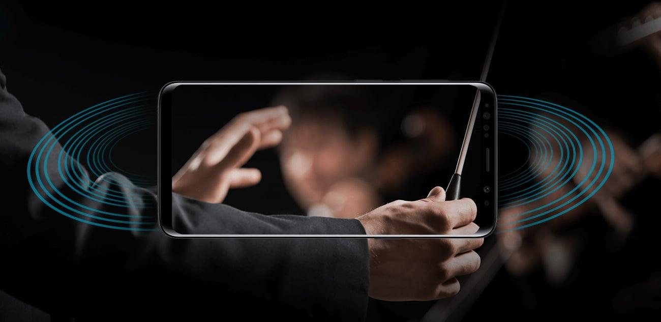 Samsung Galaxy S9 G960F głosniki stereo AKG