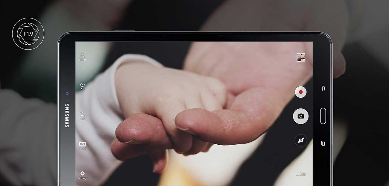 Galaxy Tab A 10.1 T585 aparat 8.0 mpix hdr