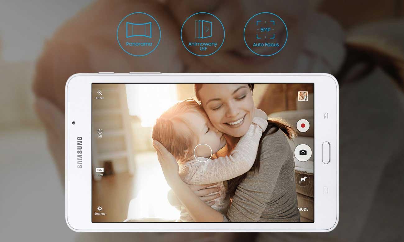 Samsung Galaxy Tab A 7.0 T285 aparat 5 mpix autofocus