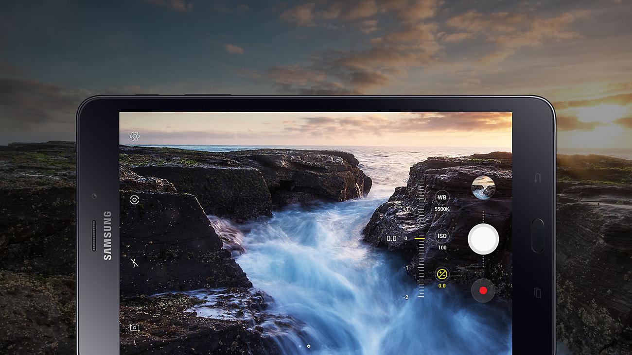 Samsung Galaxy Tab A 8.0 (2018) WiFi aparat 8 mpix f/1.9