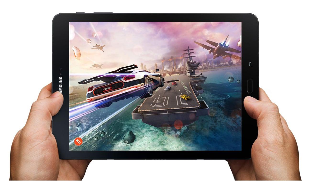 Czarny Samsung Galaxy Tab S3 T820 procesor Snapdragon 820 DDR4 6000mAh