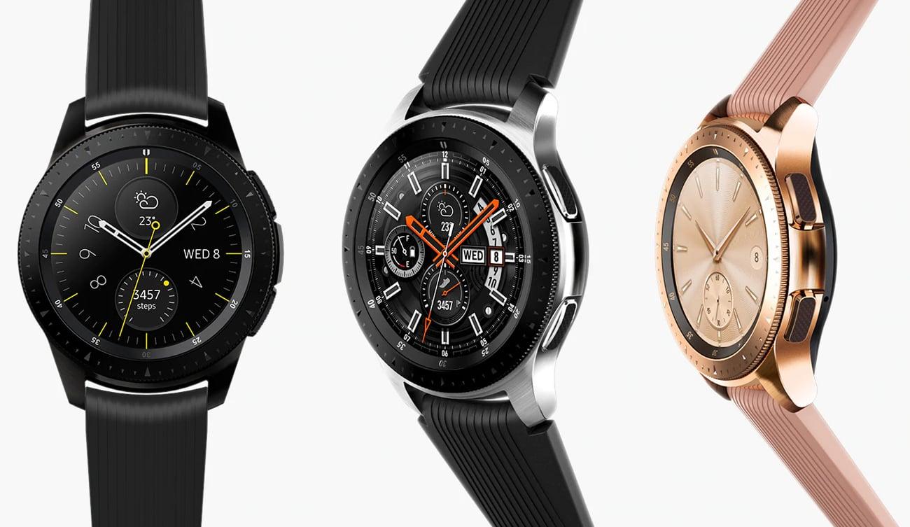 Samsung Galaxy Watch nowoczesny inteligentny zegarek