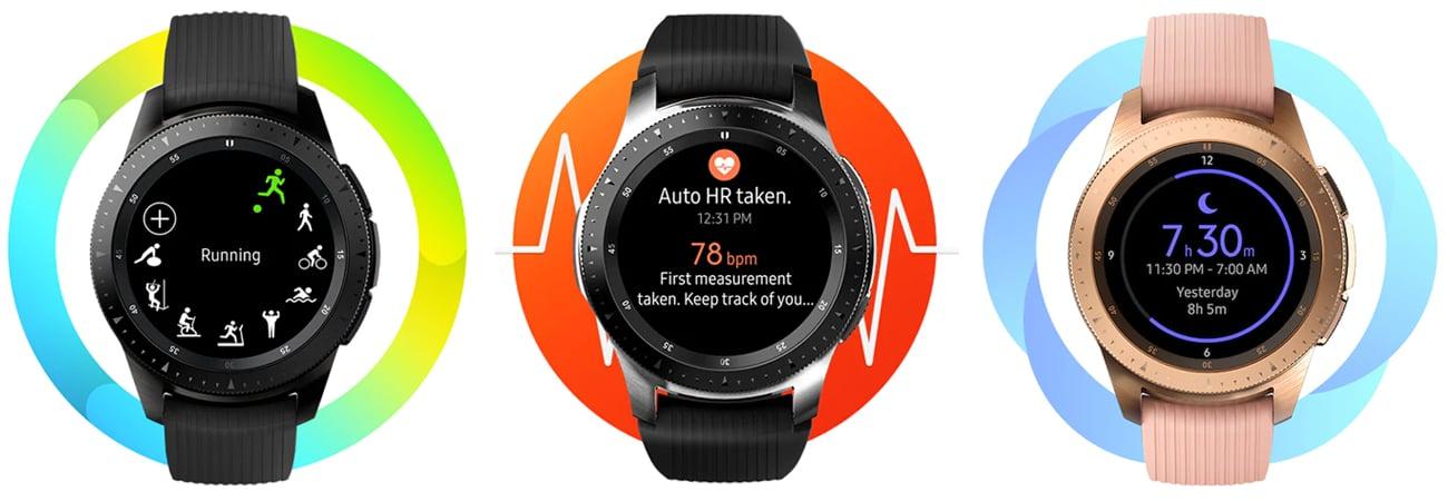 Samsung Galaxy Watch monitorowanie aktywności ATM 5