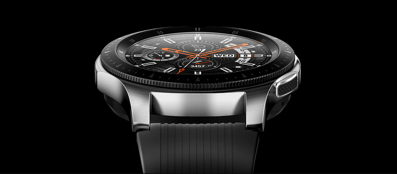Samsung Galaxy Watch ekran Super AMOLED always on display
