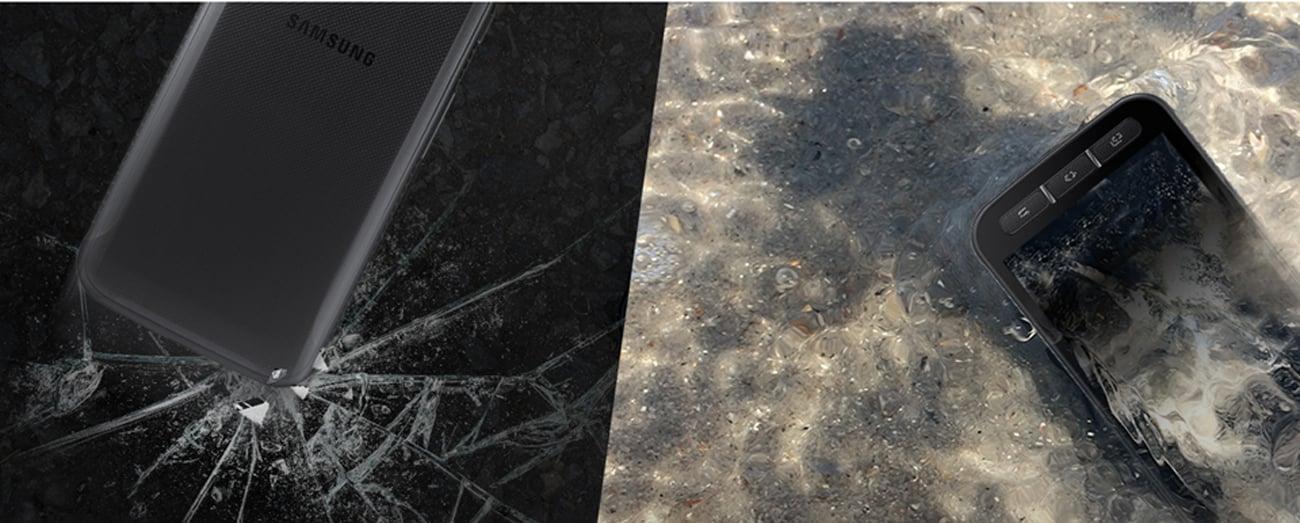 Samsung Galaxy XCover 4 Dark Silver wojskowa klasa odporności MIL-STD 810G IP68