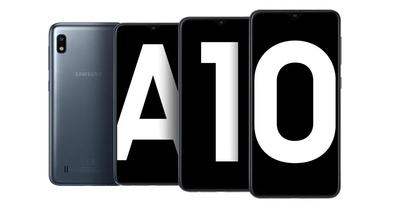 Samsung Galaxy A10 elegancki design
