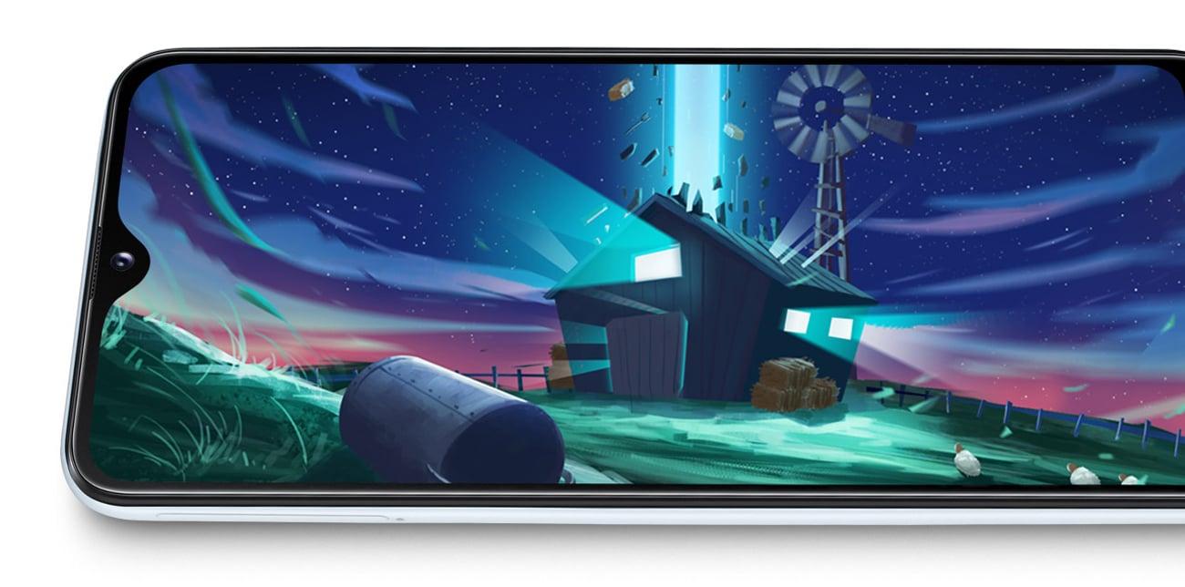 Samsung Galaxy A20e aparat 13+5 mpix live bokeh