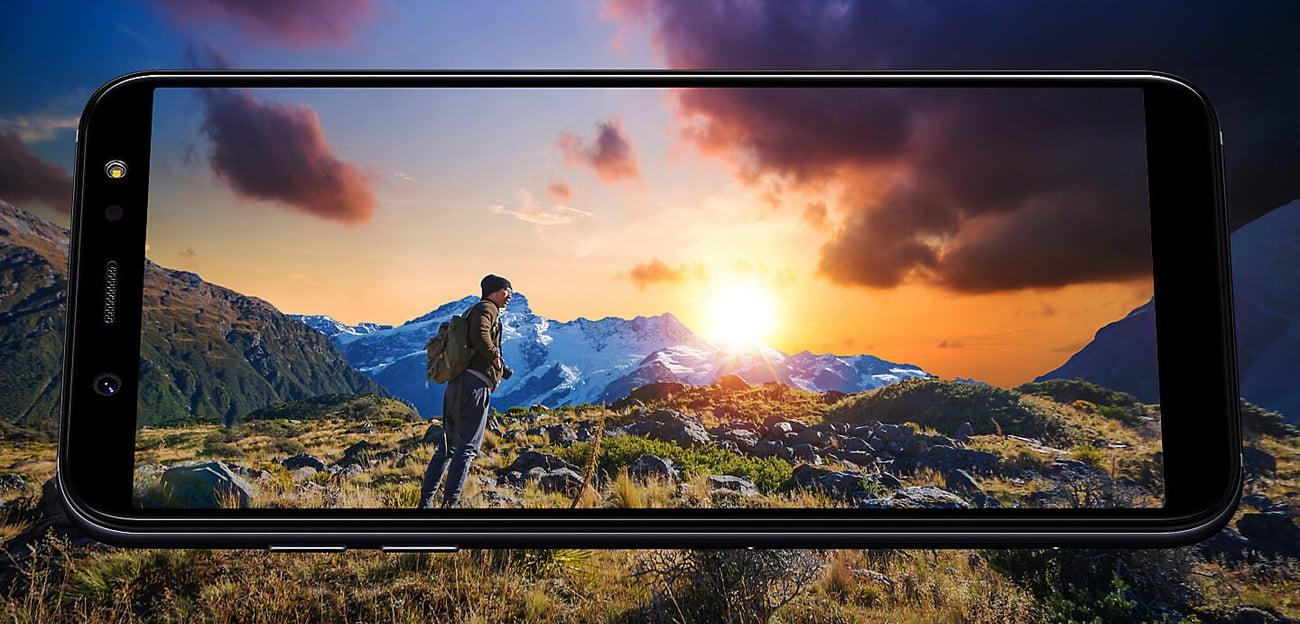 Samsung Galaxy A6 2018 ekran infinity super amoled