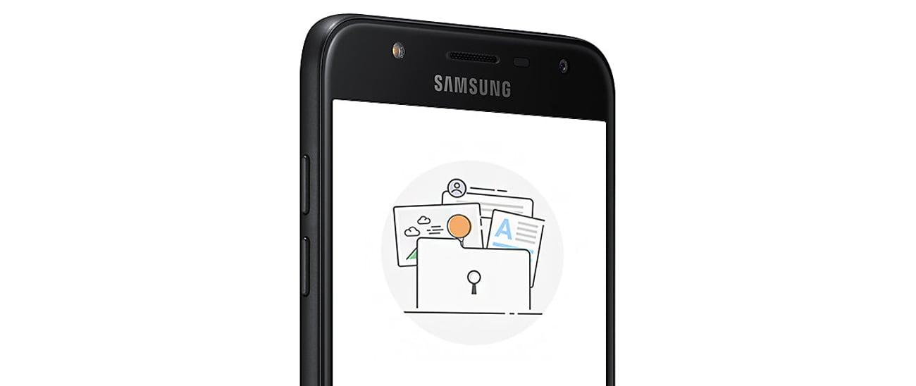 Samsung Galaxy A6 2018 czytnik linii papilarnych skaner twarzy