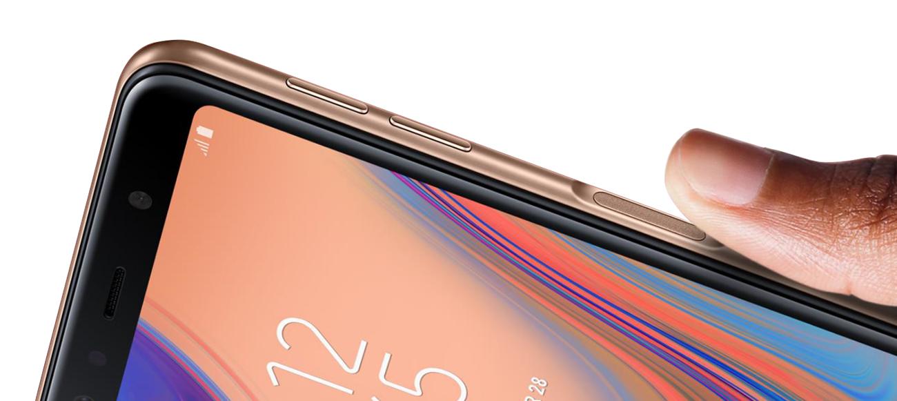Samsung Galaxy a7 czytnik linii papilarnych funkcja rozpoznawania twarzy