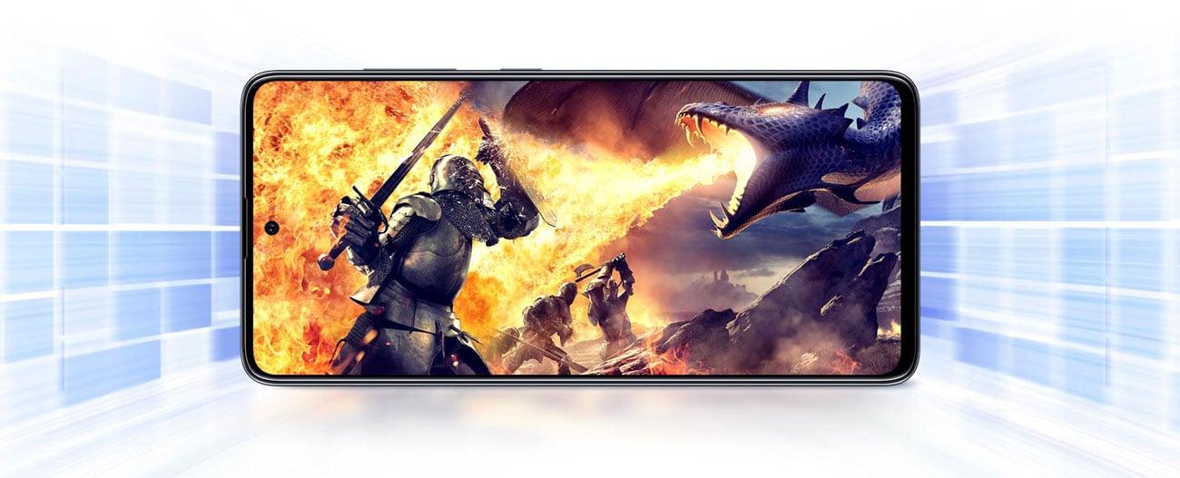 Samsung Galaxy A71 8-rdzeniowy procesor Snapdragon 730