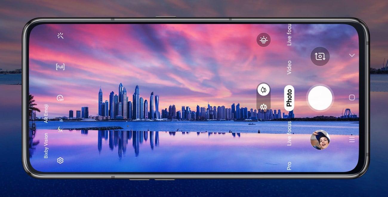 Samsung Galaxy A80 pełny ekran infinity