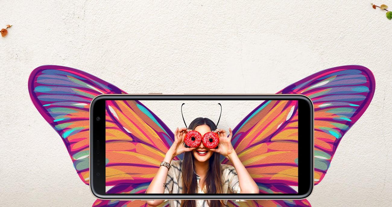 Samsung Galaxy J4 wyświetlacz