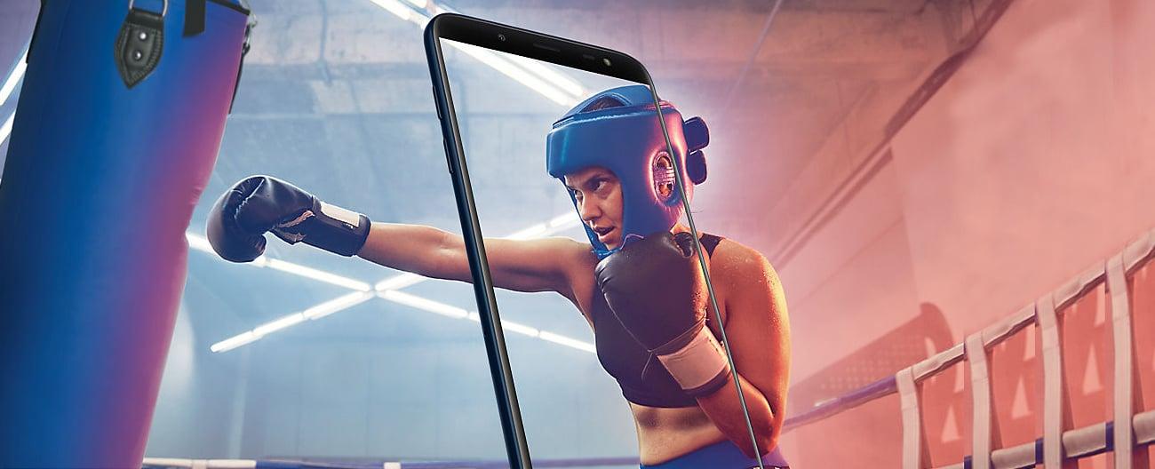 Samsung Galaxy J6 wygoda pracy