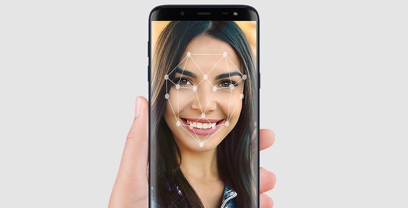 Samsung Galaxy J6 czytnik linii papilarnych rozpoznawanie twarzy