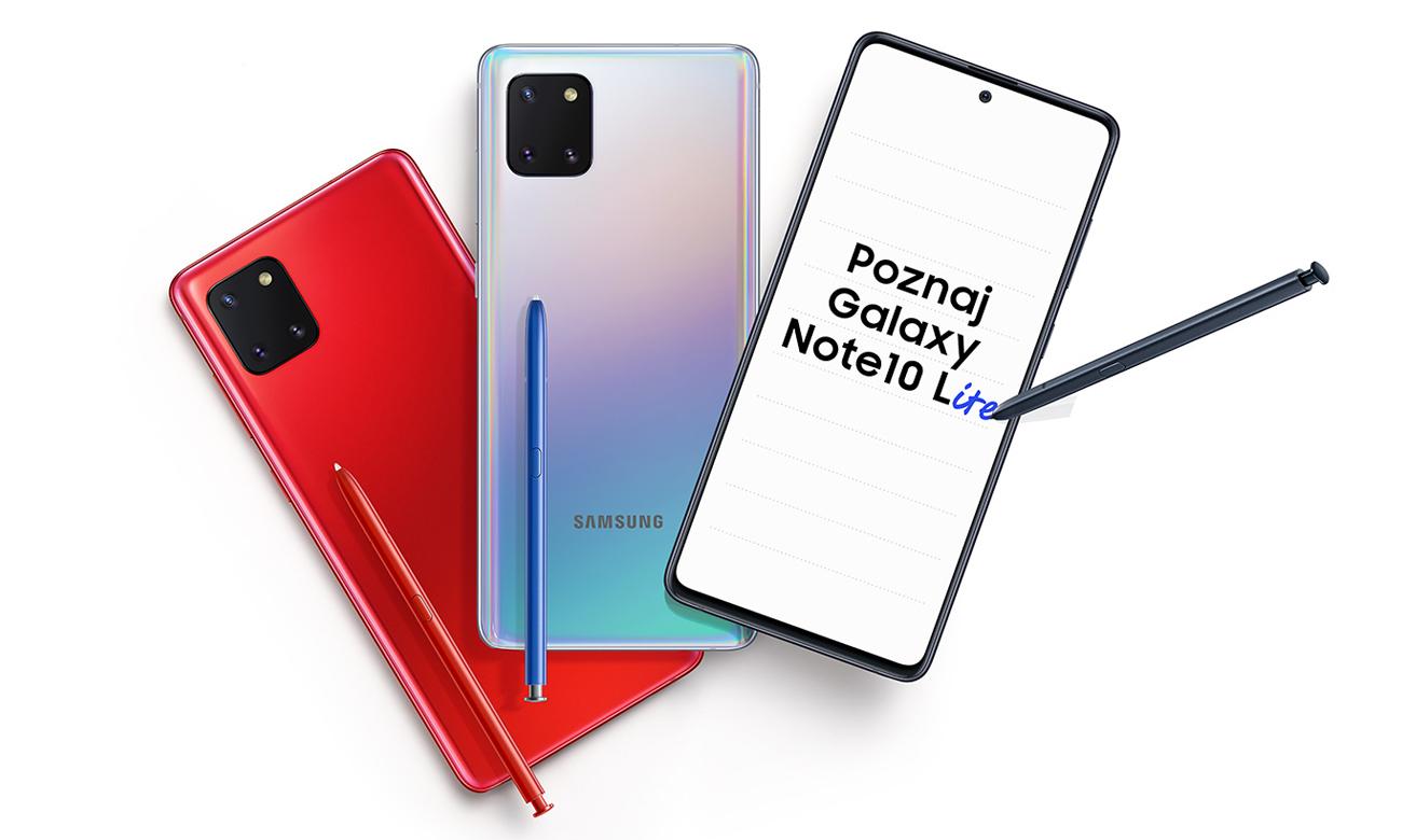 Samsung Galaxy Note 10 Lite obudowa ze szkła i metalu