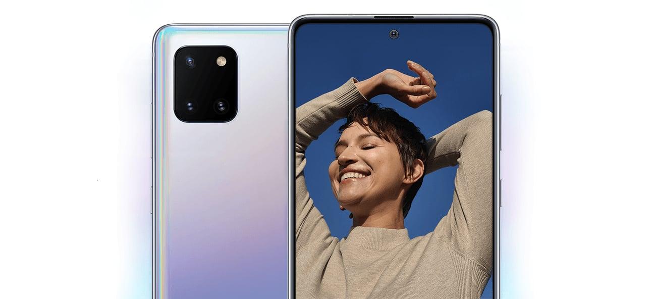Samsung Galaxy Note 10 Lite potrojny aparat teleobiektyw ois