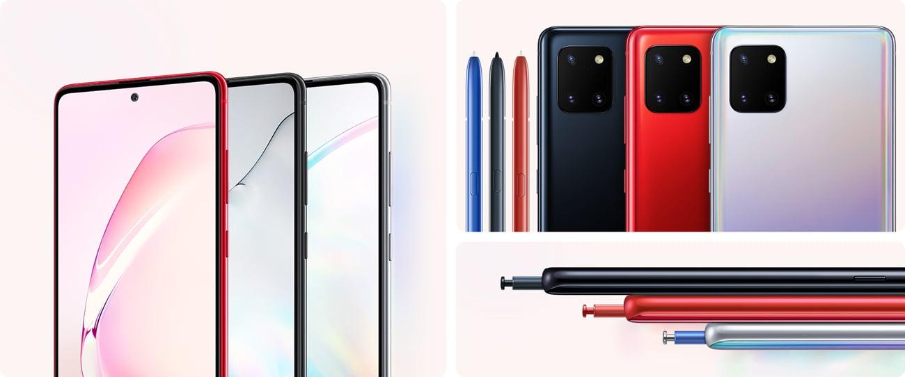 Samsung Galaxy Note 10 Lite 8-rdzeniowy exynos 9810