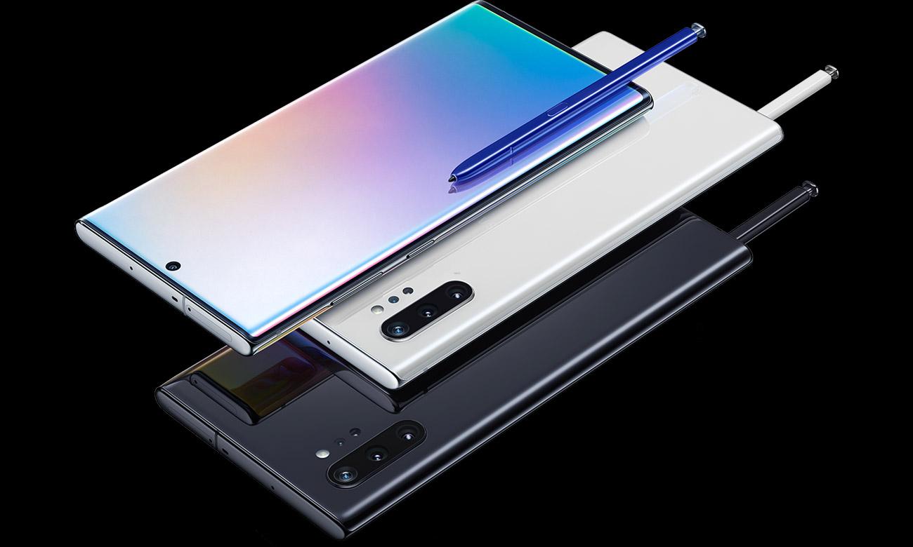 Samsung Galaxy Note 10+ obudowa ze szkła i metalu