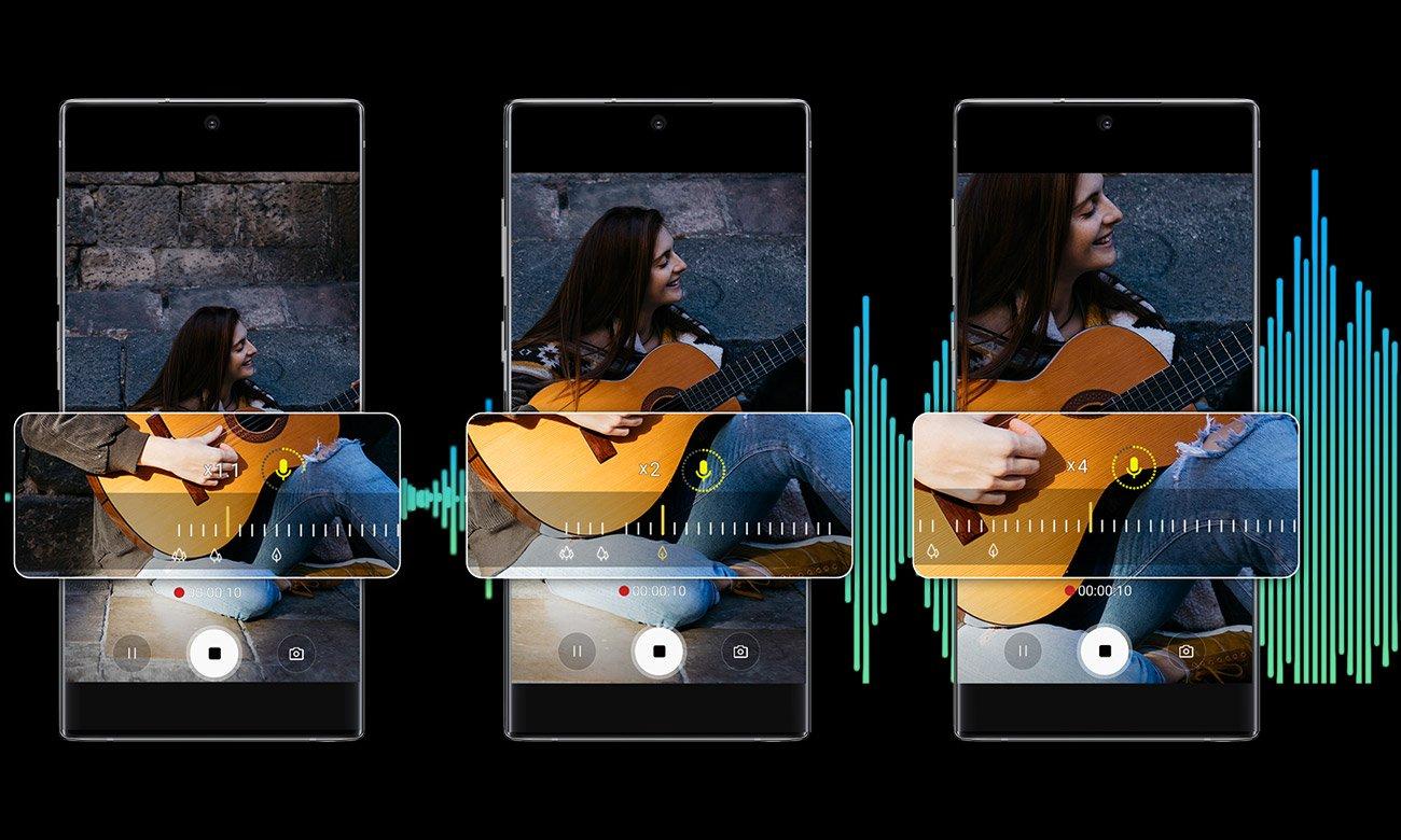 Samsung Galaxy Note 10+ potrojny aparat teleobiektyw ois