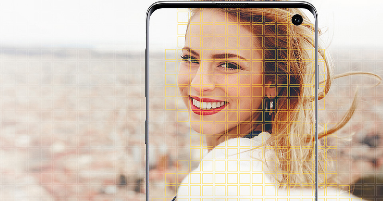 Samsung Galaxy S10 kamera stabilizowana dual pixel