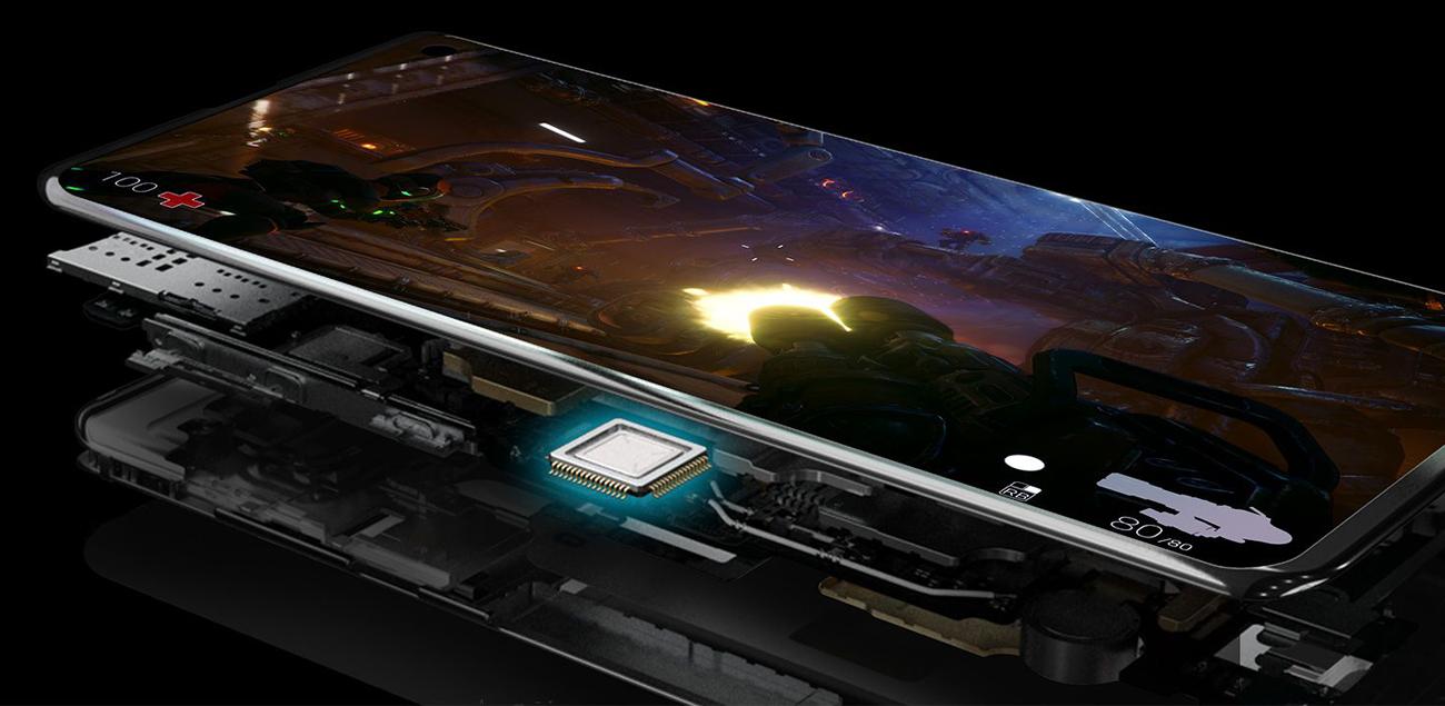 Samsung Galaxy S10 wydajnośc zoptymalizowana pod unity bezprzewodowe ładowanie innych urzadzeń