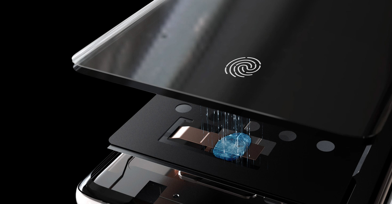 Samsung Galaxy S10 ultradźwiekowy czytnik linii papilarnych