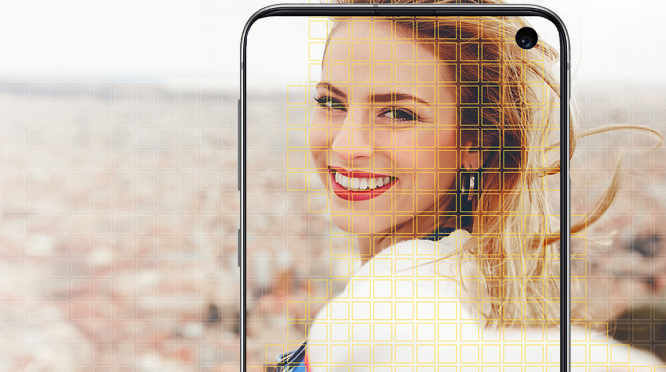 Samsung Galaxy S10e kamera stabilizowana dual pixel