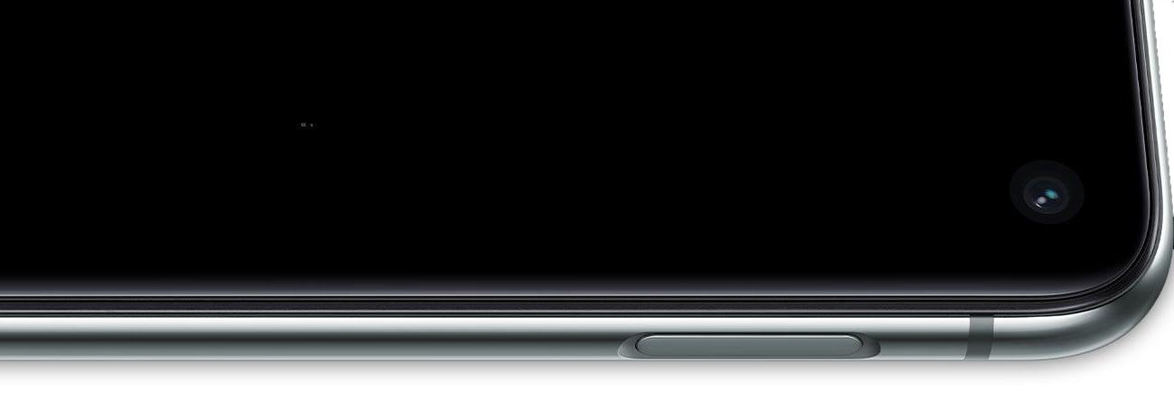 Samsung Galaxy S10e ultradźwiekowy czytnik linii papilarnych